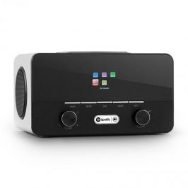 Auna Connect 150 WH 2.1 Internetradio Mediaplayer Wi-Fi LAN USB DAB + FM RDS AUX