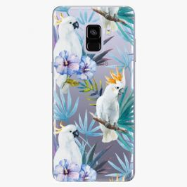 Plastový kryt iSaprio - Parrot Pattern 01 - Samsung Galaxy A8 Plus